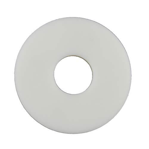 Eisenwaren2000 | Große Unterlegscheiben M20 (20 Stück) - DIN 9021 / ISO 7093-1 - Karosseriescheiben - Kunststoffscheiben - Polyamid PA