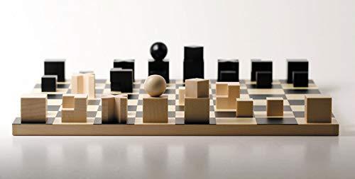 Bauhaus Ajedrez Juego completo de naef