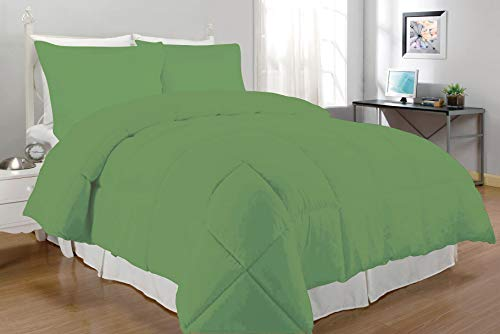 South Bay Down Alternative Comforter Set, Queen, Lime