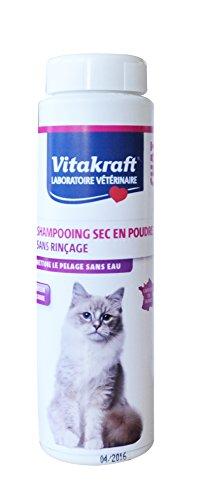 Vitakraft Shampoo Trocken ohne Ausspülen Pulver für Katzen Apfel 150g