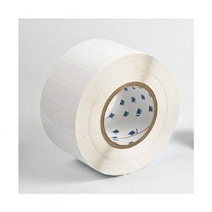 Label, White, 3 In. W, Polyester by Brady