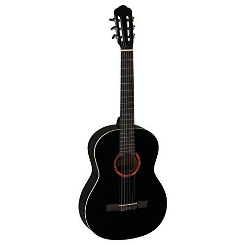 La Mancha Romero Lava 42 3/4 - Kindergitarre - Schwarz