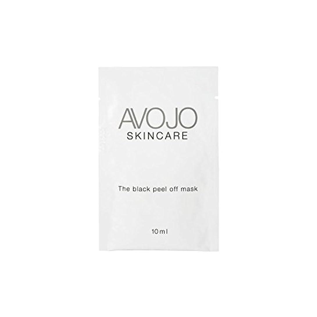 憧れできる主張Avojo - The Black Peel Off Mask - Sachet (10ml X 4) (Pack of 6) - - ブラックピールオフマスク - 小袋(10ミリリットル×4) x6 [並行輸入品]