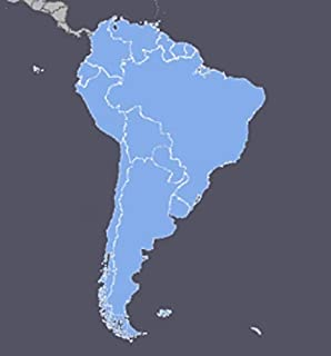 South America GPS Map 2020.1 for Garmin Devices