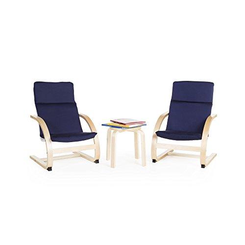 Guidecraft Kiddie Rocker Chair Set - Blue G6406