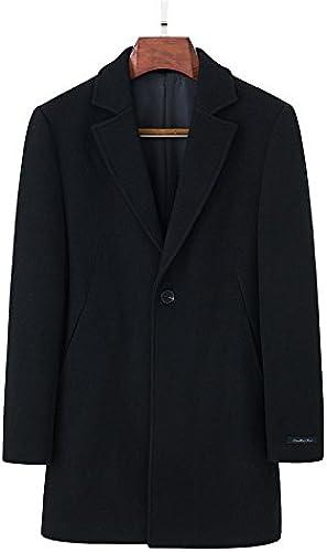 Fvbuhhi Un Manteau de Fourrure, Un Manteau de Fourrure, Un Manteau d'hiver, Un Manteau de Fourrure, Un Coupe - Vent imperméable,noir,XXXL
