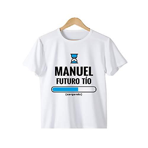 calledelregalo Regalo Personalizado para anunciar un Embarazo a tu Hermano o cuñado: Camiseta