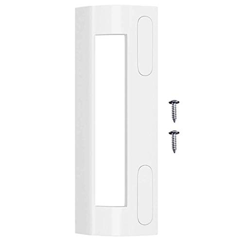 Puerta Asa en nevera y congelador para 82 – 163 mm de distancia de tornillo, color blanco