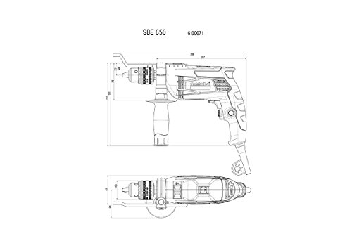 Metabo SBE 650 Schlagbohrmaschine - 2
