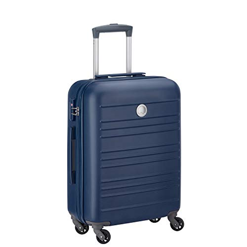 Delsey Carlit luggage Trolley cabin 4R Slim 55 Blue