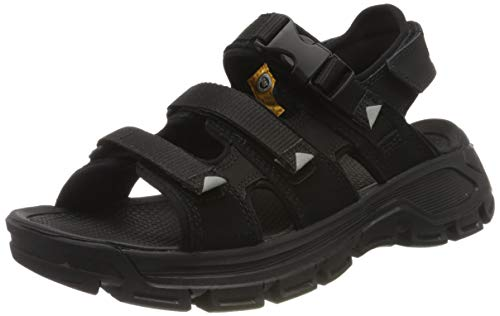 Cat Footwear Herren Progressor Buckle Römersandalen Sandalen, schwarz (Black/Black-Wild Dove Black), 40 EU