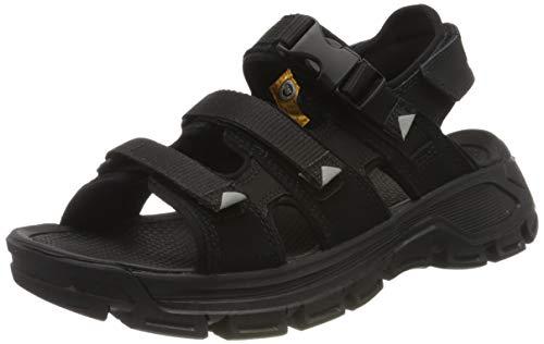 Cat Footwear Herren Progressor Buckle Römersandalen Sandalen, schwarz (Black/Black-Wild Dove Black), 45 EU