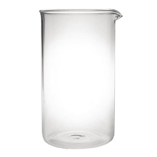 Olympia K737Ersatz Glas für Chrome Finish Cafetiere, passt 12Tassen