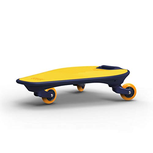 EAZINGO 3 Wheel Twisty 360 Degree Caster Board Wiggle Skateboard Complete 22 Inchs for Kids Boy Youths Beginners Heavey Duty 220lbs