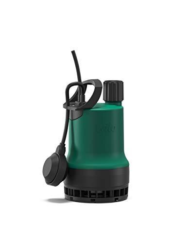Wilo-Drain TMW 32/8, Schmutzwasser Tauchpumpe zur Förderung von klarem oder leicht verschmutztem Wasser aus Kellern, Behältern, Teichen oder Brunnen Kabellänge 4m, max. 9100l/h, max. 0, 7 bar, 370W