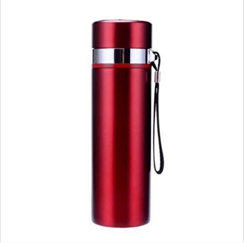 Koude fles, waterfles, dubbelwandig, vacuüm-geïsoleerde roestvrijstalen thermosfles, 12 uur warm, 24 uur koud, voor school, fitness, reizen, buiten, BPA-vrij 2