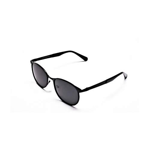 Tom Archer - Gafas de sol unisex de alta calidad, estilo retro, polarizadas, con funda de gamuza de limpieza para lentes