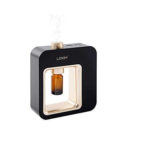 Diffuseur d'aromathérapie - Diffuseurs de qualité professionnelle pour huiles essentielles, technologie de nébulisation Noir