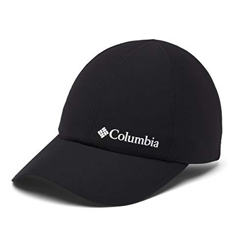 Columbia Gorra de béisbol unisex, Silver Ridge III Ball Cap, Nailon, Negro (Black), Talla O/S, 1840071