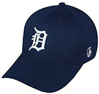 MLB Replica Adult Baseball Cap Various Team Trucker Hat Adjustable MLB Licensed , Detroit Tigers - Home
