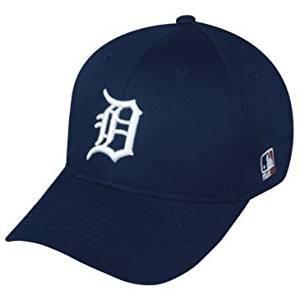 MLB Replica Adult Baseball Cap Various Team Trucker Hat Adjustable MLB Licensed , Detroit Tigers - Home