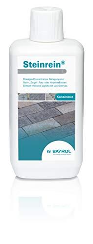 BAYROL Steinrein Konzentrat Reiniger für Stein- Ziegel- Holzoberflächen, weiss