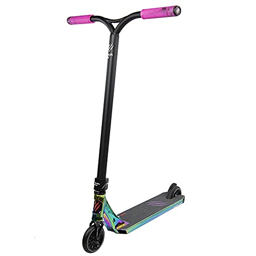 Bestial Wolf Rocky R12 Rainbow, Patinete Pro Scooter Freestyle Nivel Profesional (Rainbow)