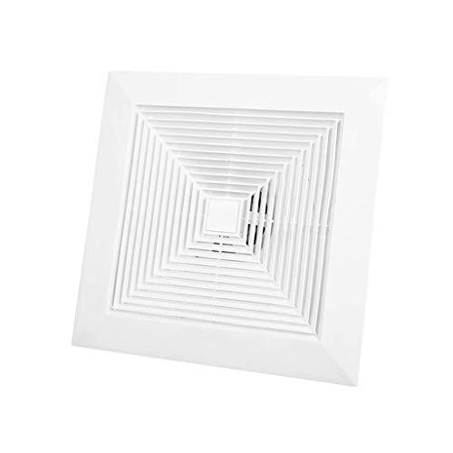 LANDUA Ventilador de Techo de Escape y Luz aith Sonido-Absorbente acústico Aislamiento for baño y Home ventilación Ventilador silencioso Extintor Extractor
