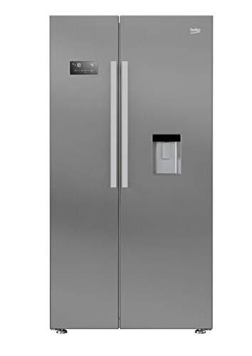 Beko GN 163221 XB Side-by-Side/A+ / 179 cm / 484 kWh/Jahr /364 L Kühlteil / 190 Gefrierteil/No Frost/Wasserspender