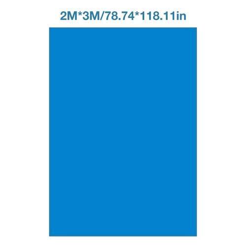 Schwimmbecken Matte Pool Grundtuch Bodenmatte Pool bodentuch Schwimmbadmatte Rechteckiger faltbarer Teppichboden Polyester Pool Grundtuchfür verschiedene aufblasbare Pools - 200x300CM