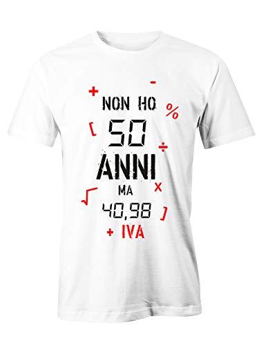 6TN Uomo T-Shirt Vintage Anni 70 alla Perfezione