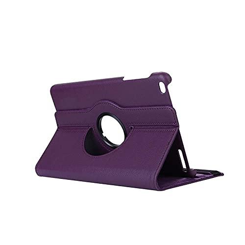 For Huawei MediaPad T1 10 T1-A21W T1-A21L T1-A23L 9.6'Tablet Case 360 Degree Rotating Flip Stand Leather Cover-Morado