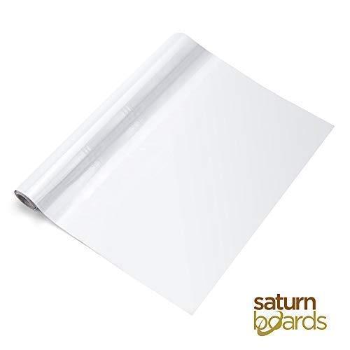 Whiteboard-folie, zelfklevend, voor school, thuis, kantoor, droog afwasbaar, wit, 45 x 200 cm