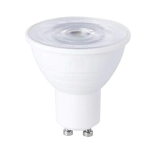 1PCS GU10 Bombilla LED MR16 Foco 220V 5W / 7W Ampolla Lámpara LED Spot Light Ahorro de energía-GU10 Transparente_7W (blanco frío)