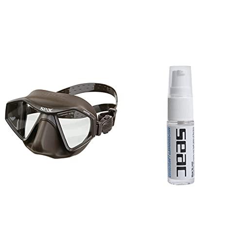 SEAC M70 Maschera per Pesca Sub in apnea + Biogel Anti appannante