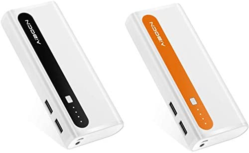 Aibocn Portable Power Bank 2 Pack External Battery Charger with Flashlight for iPhone iPad Samsung product image