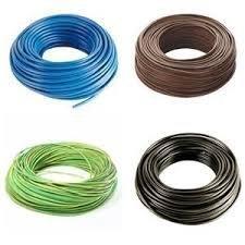 Cable eléctrico unipolar N07 V-K, cable de 1 x 2,5 mm