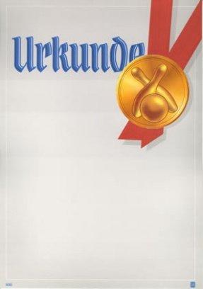 Albert Hoffmann Urkundenverlag Bowling / 930 / 957 / / Edelkarton (300 g/m²) 10 Stk