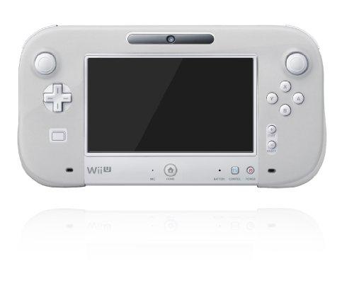 任天堂公式ライセンス商品 シリコンカバー for Wii U GamePad クリアホワイト