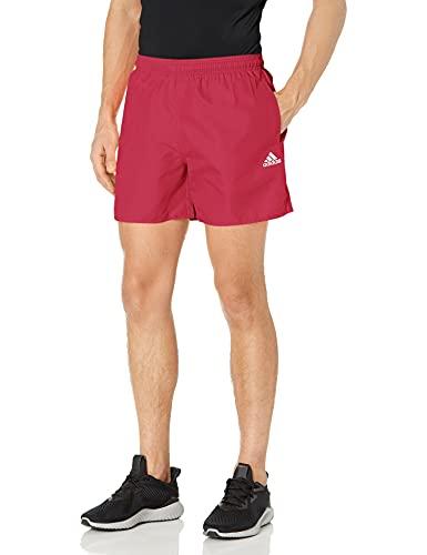 adidas Length Solid Swim Short Pantalones Cortos de baño premamá, Wild Pink/White, XS para Hombre