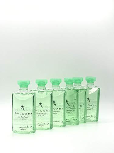 Price comparison product image Bvlgari Au The Vert (Green Tea) Shampoo,  15 Ounces Total - Set of 6,  2.5 Ounce Bottles