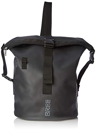 BREE Collection Unisex-Erwachsene Punch 724, Black, Cross Kit Bag Shopper Schwarz (Black)