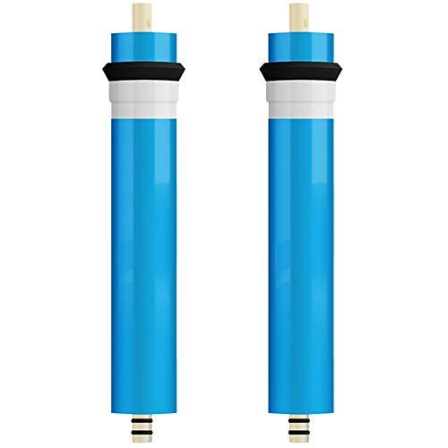 Filtro De Repuesto Compatible Universal 100G Filtro De Agua RO Purificador De Agua Cartucho De Filtro De Agua Filtro Compatible para Purificador De Agua De Ósmosis Inversa para El Hogar