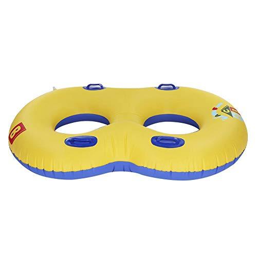 Piscina para niños Barco Barco para bebés Flotador Juguete Inflable Nadar Flotador Asientos dobles para una pareja Padre-hijo Gemelo