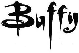 Legacy Innovations Buffy Black Decal Vinyl Sticker Cars Trucks Vans Walls Laptop  Black  5.5 x 3.5 in LLI650