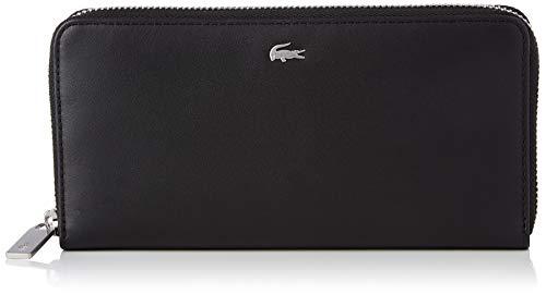 Lacoste Damen NH1993FG Reisezubehör- Brieftasche, Noir, Einheitsgröße