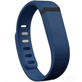 Bracelet de rechange pour Fitbit Flex (bleu marine, grand).