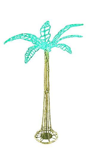 Palme 250 cm hoch mit 3096 LED beleuchtet für Event Party Messe
