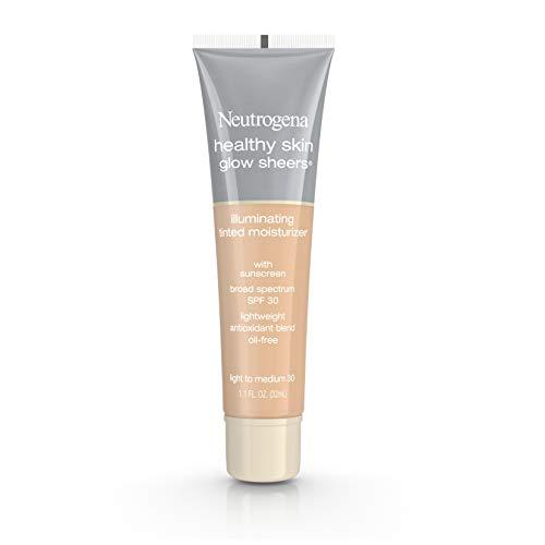 Neutrogena Healthy Skin Glow Sheers SPF 30, Light To Medium, 1.1 Ounce