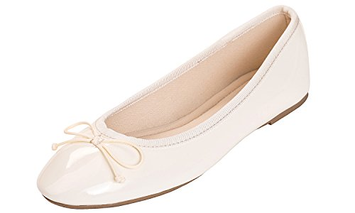 Top 10 best selling list for cream patent flat shoes